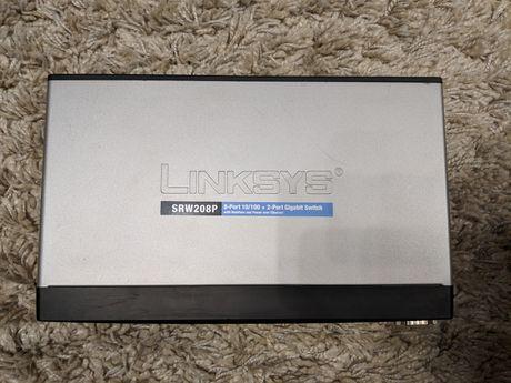 Управляемый коммутатор Linksys SRW208P