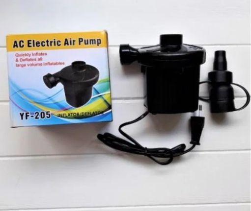 Электрический насос компрессор для матрасов от сети 220В YF-205