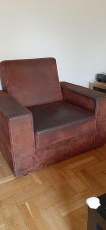 Fotel Fresh tkanina stara skóra + narożnik (cena do uzgodnienia)