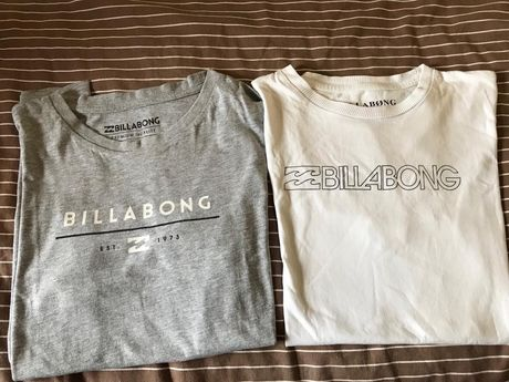T-shirt billabong menino