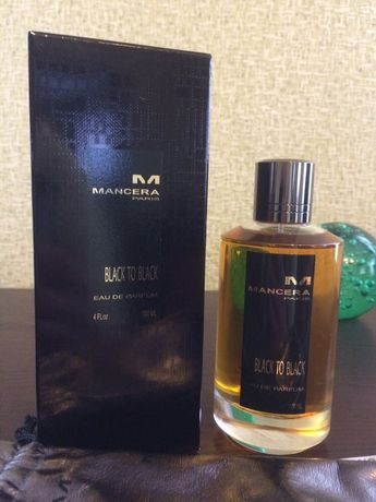 Mancera Black to Black, 5 ml