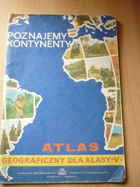 Atlas geograficzny z PRL 1983