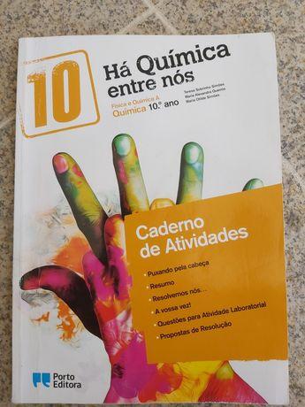 Caderno de atividades, Há Química entre nós, 10°ano Fisica e Quimica A