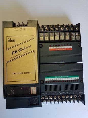 Automatos Idec Izumi FA-2 Junior e diversas cartas de I/O