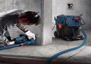 Штроборез +строительный пылесос прокат