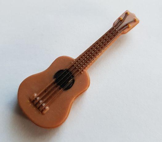 Gitara, gitarka skala 1/12 mini, domek dla lalek