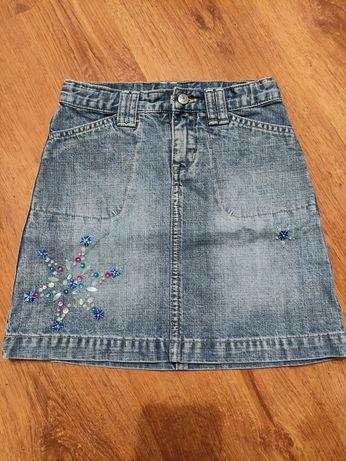 Юбка джинсовая детская GAP на 4-5 лет