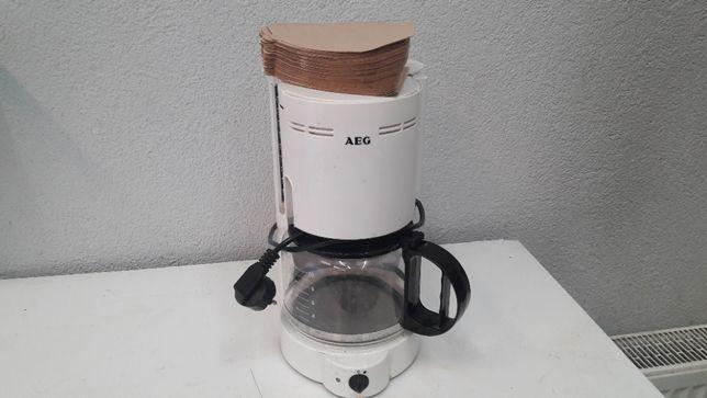 Ekspres do kawy AEG stan bardzo dobry plus gratis