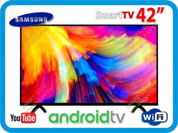 Телевизор Samsung Smart TV RU42S00, Android 9, WiFi, USB, T2