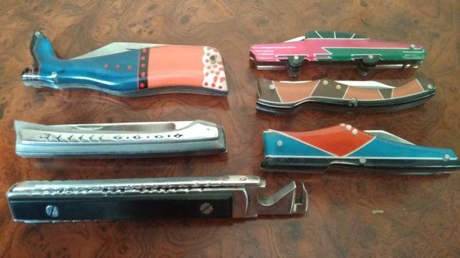 Коллекция складных ножей СССР.