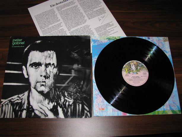 Peter Gabriel – Ein Deutsches Album, płyta winylowa