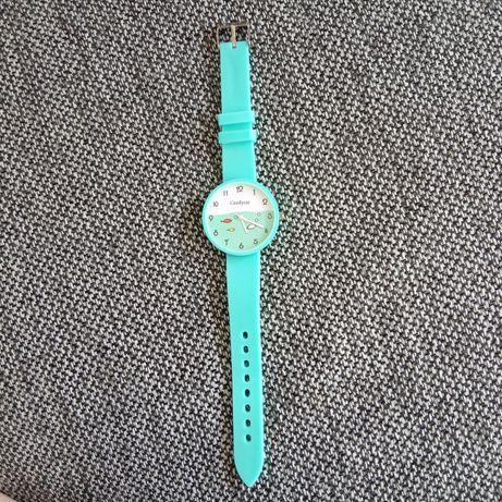 Nowy zegarek z rybkami.