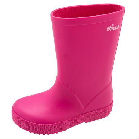 Botas Galochas rosa Fúscia de Menina CHICCO - Tamanho 29 - como Novas