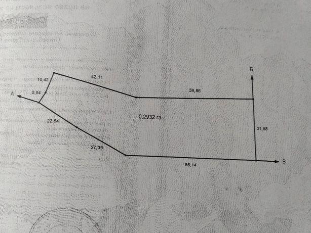 Продам ділянку землі для ведення ОСГ с. Семенівка