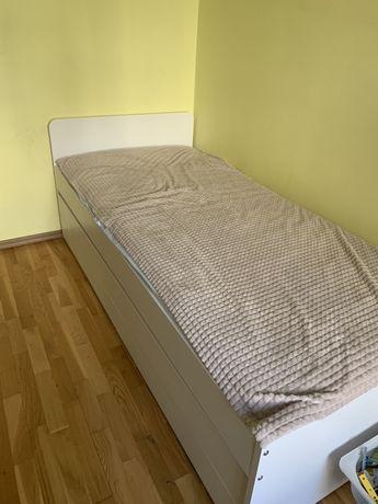 Ліжко двомісне висувне Ikea SLÄKT ИКЕА СЛЭКТ + матраци 2 шт.