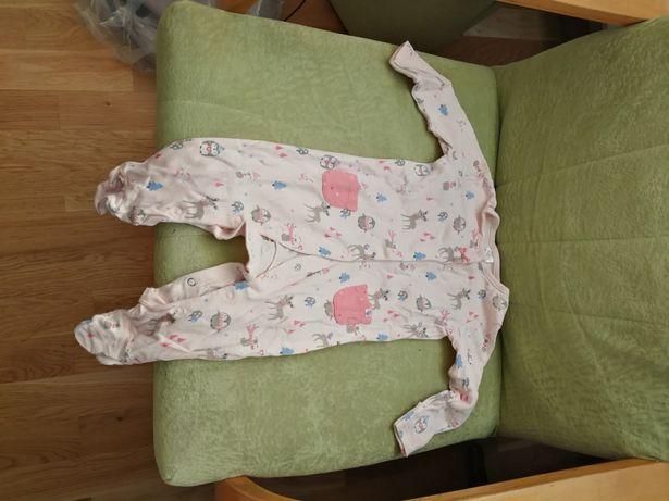 Pajacyk dla niemowlaka dziewczynki
