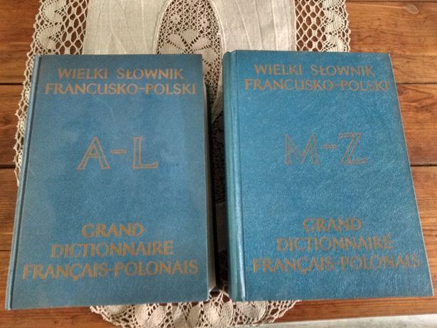 Wielki słownik francusko - polski