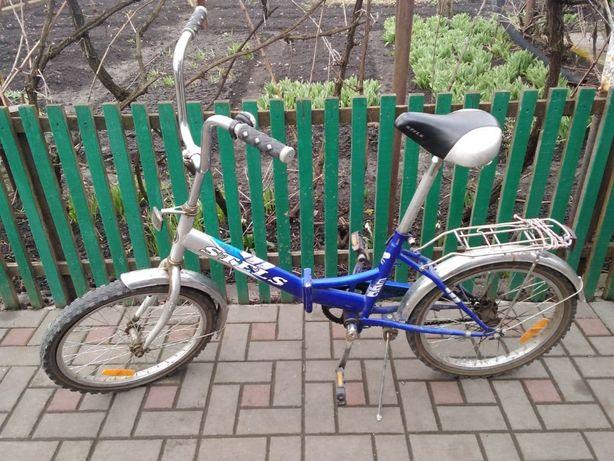 велосипед женский Stels складной
