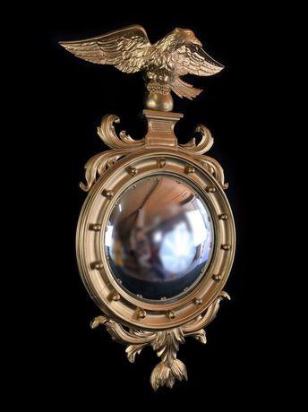 Антикварное зеркало в стиле Ампир
