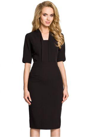 Sukienka Model MOE310 Black (M) WYPRZEDAŻ!