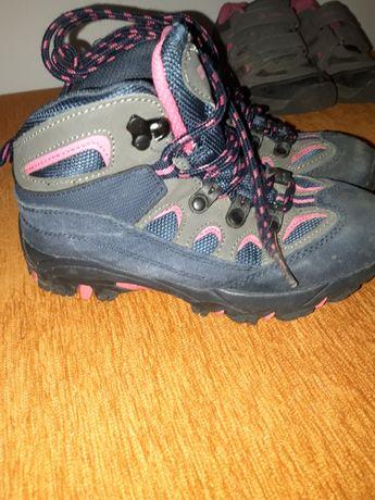 Buty trekkingowe, w góry dla dziewczynki r.32