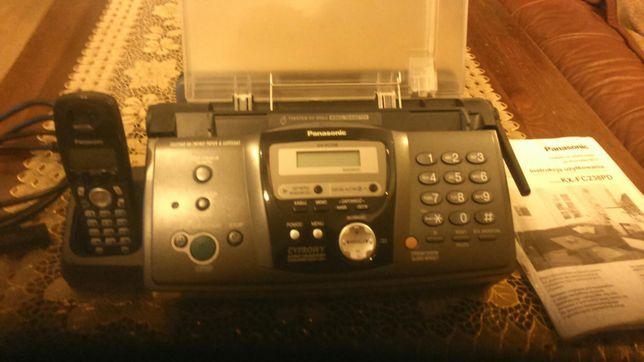 Faks z telefonem jak nowy.