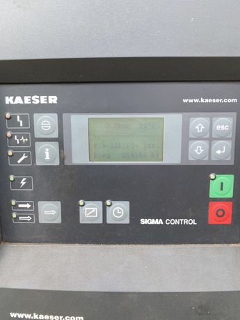 Kompresor śrubowy Kaeser CSD 102 55 kW + Osuszacz KAESER TE 91