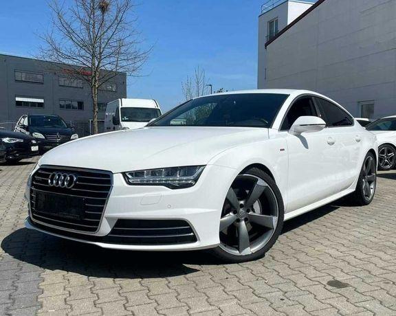 Auto do ślubu Audi A7