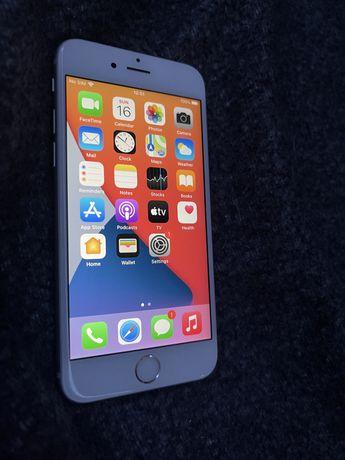 Iphone 6s silver 32gb + słuchawki + etui