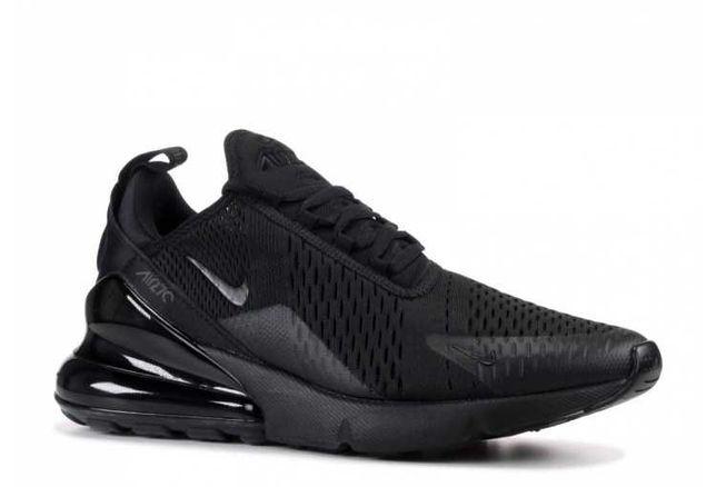 Кроссовки мужские  Nike Air Max 270 черные/уникальные /найк
