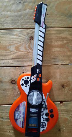 Gitara elektryczna Simba z efektami świetlnymi