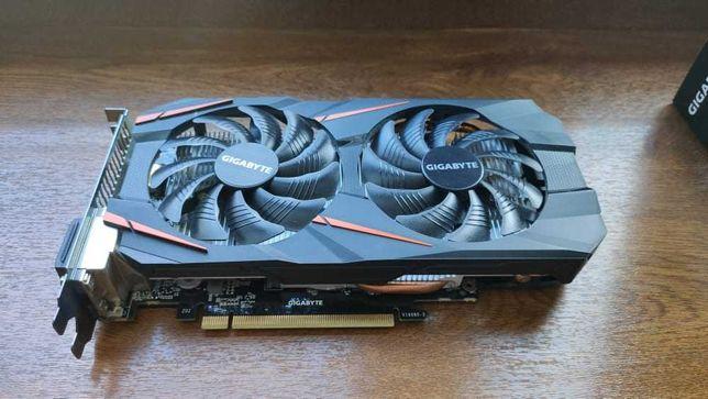 ( Zarezerwowana do niedzieli ) Gigabyte GeForce GTX 1060 WF OC 3GB
