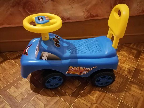 Машинка большая детская толокар