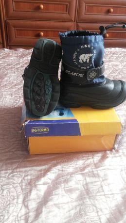 Термосапоги, сапоги зимние, ботинки на мальчика 25-26 B&G
