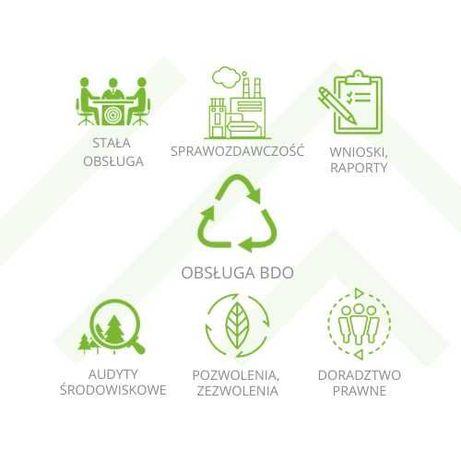 Ochrona środowiska BDO, Kobize, CRO, BDS, sprawozdanie środowiskowe