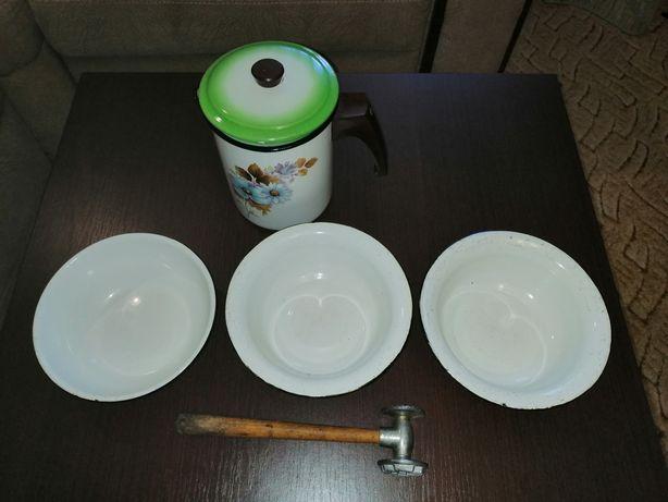 Эмалированная посуда СССР