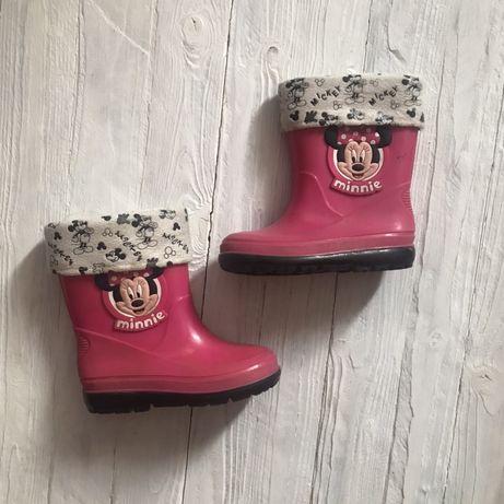 Сапоги ботинки резиновые на девочку