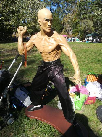 Estátua do Bruce Lee do Filme