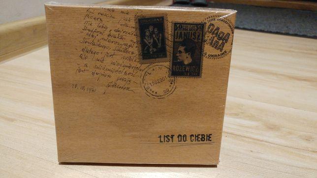 Dagadana - CD - List do Ciebie - nowa płyta - zafoliowana fabrycznie
