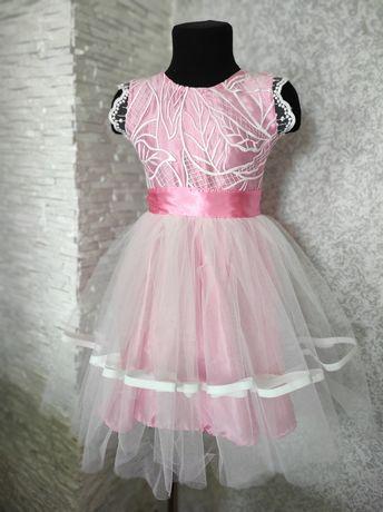 Нарядне плаття для дівчинки 5-6 р
