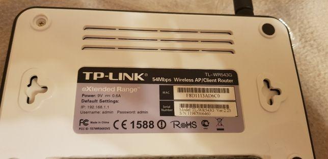 Router Tp-Link TL-WR543G