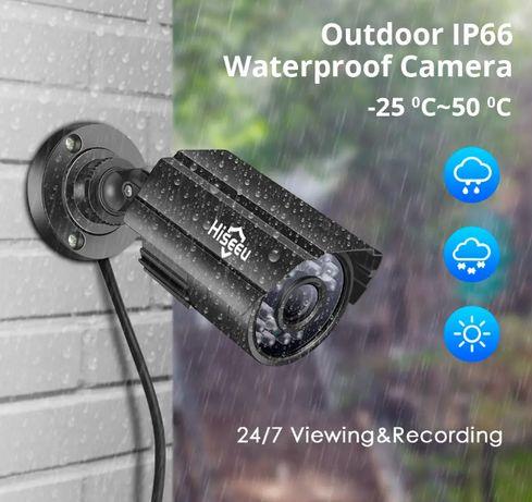 Câmera Vigilância Exterior • AHD • 5MP • Para Box CCTV • Visão Noturna