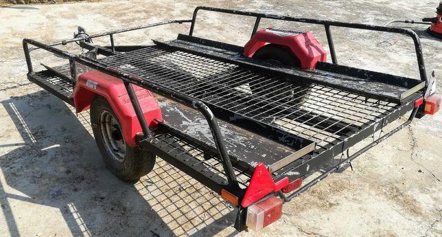 Atrelado ou Reboque Toniauto para motos ou moto4