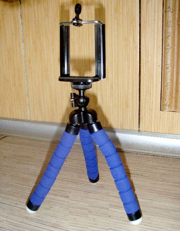 Штатив гибкий телефона камеры экшн фото осьминог держатель трипод
