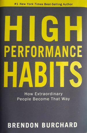 Książka High Performance Habits – Brendon Burchard NOWA
