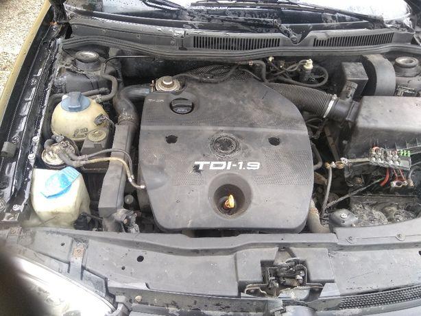 Silnik Golf 4 Bora Seat Leon Audi 1.9 TDI kompletny
