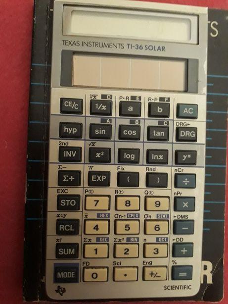 Calculadora científica solar Texas TI 36