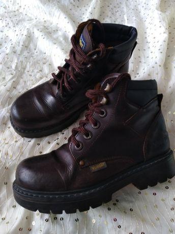 Кожаные ботинки  Wrangler