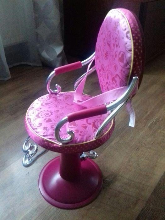 Fotel fryzjerka lalki podnoszony Krosno - image 1