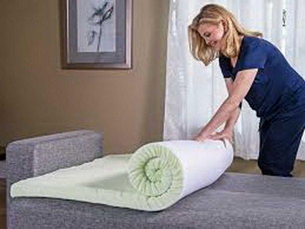 Тонкий ортопедический матрас (матрац) на диван